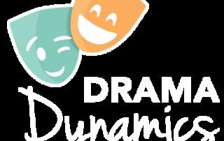 Drama Dynamics Logo White