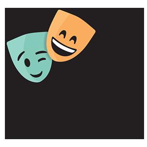 Drama Dynamics Retina Logo