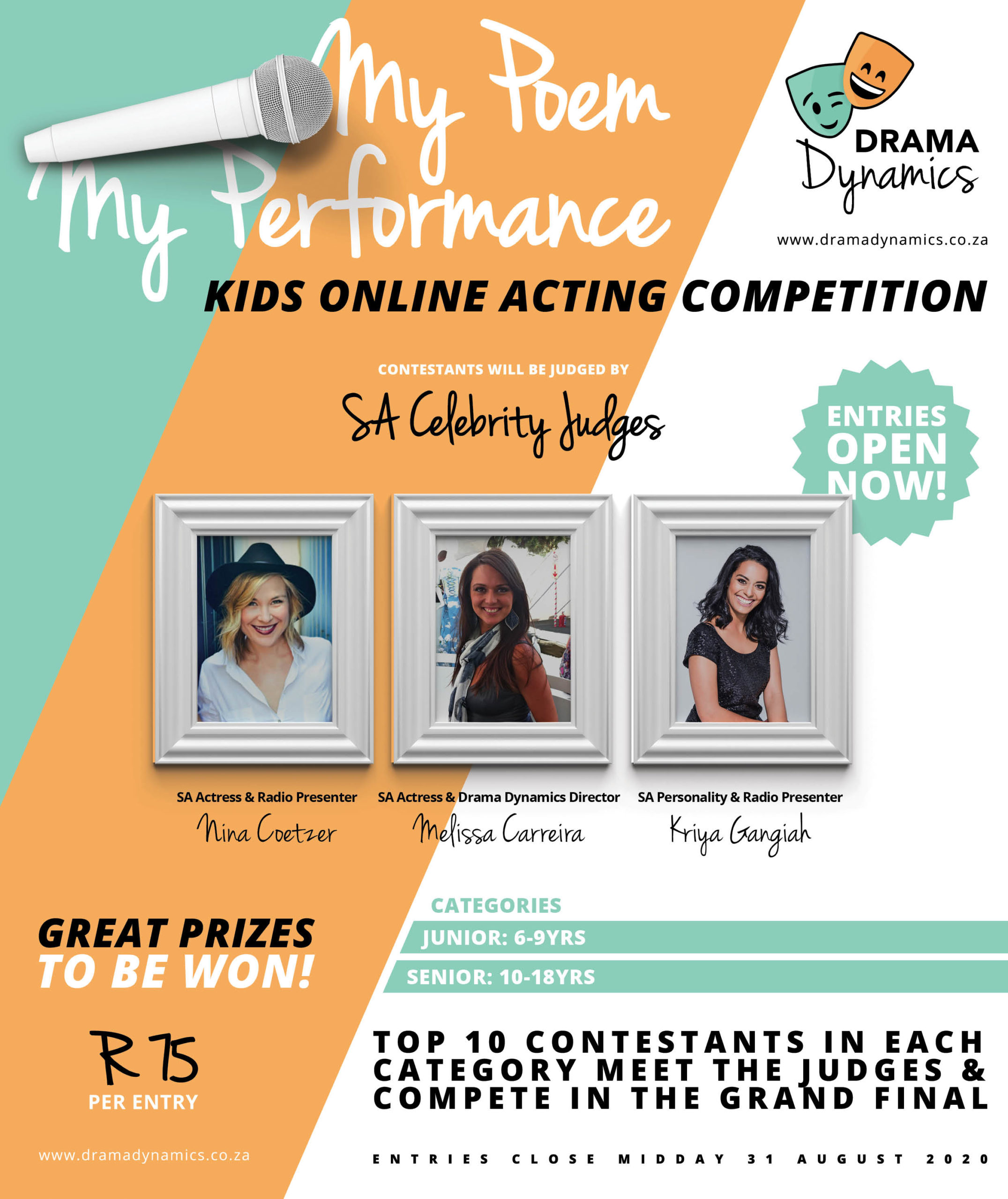 Drama Dynamics Advert | Drama Classes Pretoria